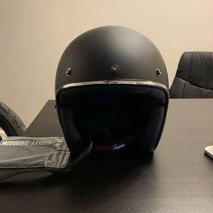 Harley Davidson three quarter Helmet brand new